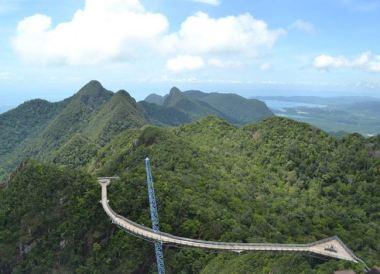 Langkawi Cable Car, Singapore to Bangkok Overland Island Hopping