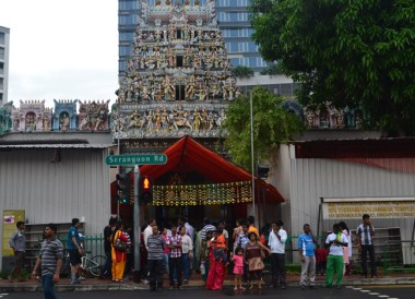 Temple Little India Area, Where to Stay in Singapore on a Budget