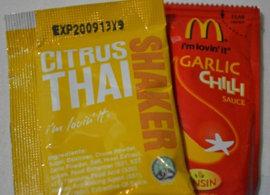 McSauces and Shakers. McDonalds in Asia Comfort Foods while Travelling