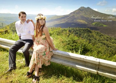 Kintamani Road, Pre-wedding Photo Shoot in Bali Photography Locations