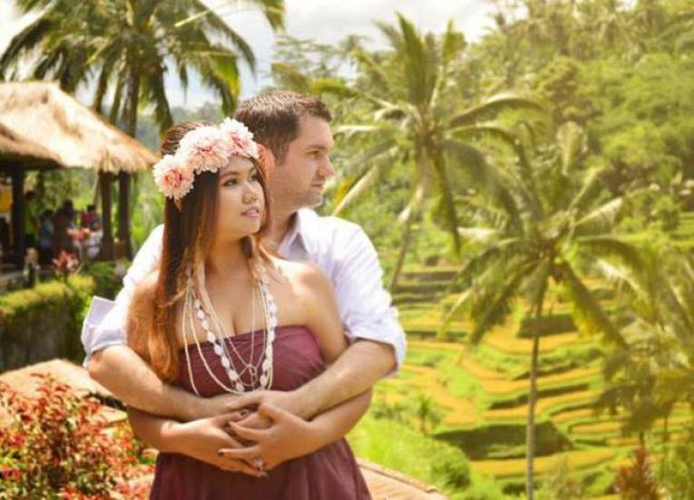Rice Terraces, Pre-wedding Photo Shoot in Bali Photography Locations