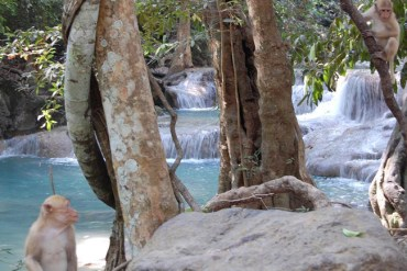Erawan Falls, HostelBookers 7 Super Shots Travel Photography Challenge