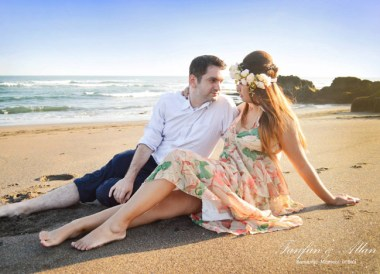 Pre-Wedding Photo, Black Beach, Wedding in Bali Ubud, Travel Bloggers