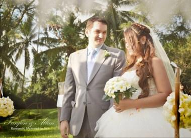 Walking the Aisle Simple Wedding in Bali Ubud, Travel Bloggers Wedding