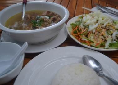 Restaurant Food, Duck, Champasak Palace Hotel Pakse Hotel Review Laos