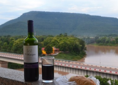 Wine and Baguette, Champasak Palace Hotel Pakse Hotel Review Laos
