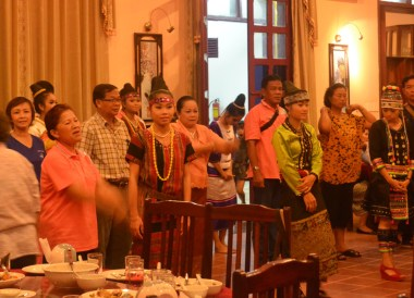 Hill Tribe Pageant, Champasak Palace Hotel Pakse Hotel Review Laos