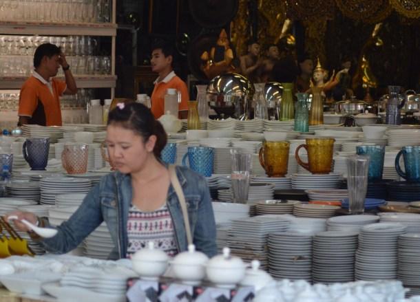 Kitchenware, Eating at JJ Market Bangkok, Chatuchak Weekend Shopping