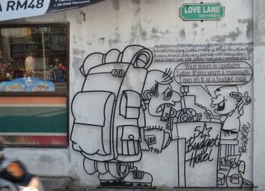 Love Lane Area, Best Thai VISA Run to Penang Malaysia