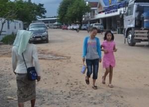 Leaving Laos Border, Pakse to Bangkok by Bus, Laos to Thailand, Asia