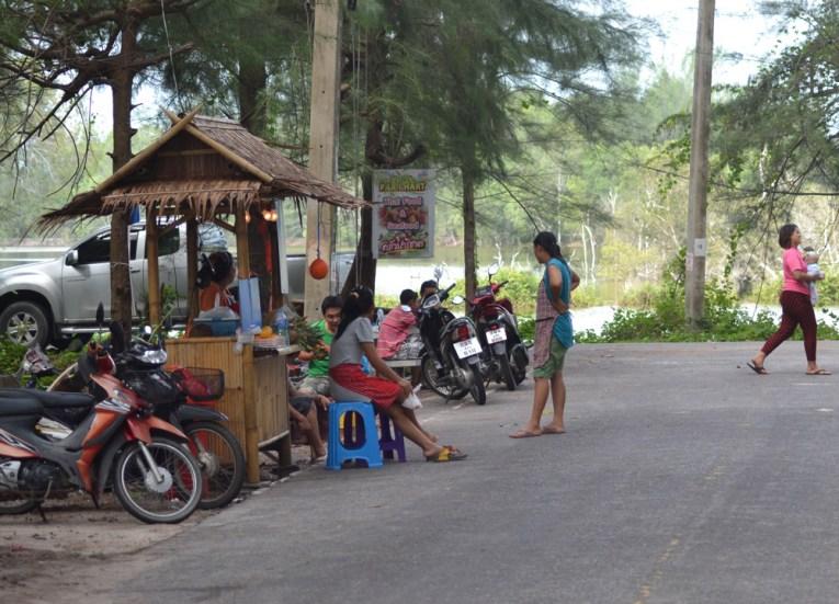 Roadside Fruit Stalls, Sala Phuket Resort Review, Phuket Pool Villas