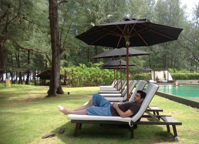 Beachfront Seating, Sala Phuket Resort Review, Phuket Pool Villas Asia