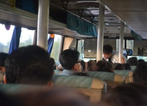 On-Board Bus, Savannakhet to Pakse by Bus, Travel in Southern Laos