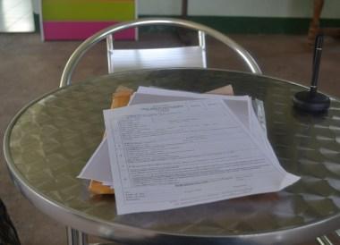 Non Immigrant O Forms, Thai Visa Run to Savannakhet Laos from Bangkok