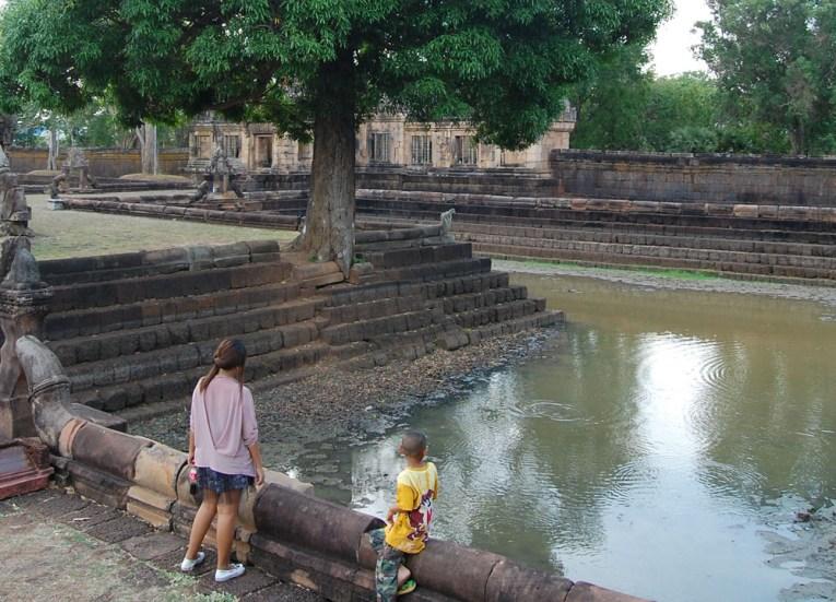 Barai Reservoirs, Prasat Phanom Rung Historical Park, Buriram Isaan Thailand