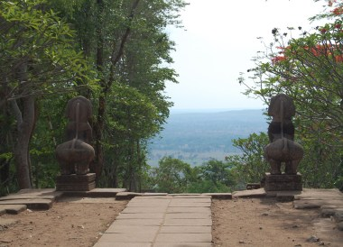 Views from Top, Prasat Phanom Rung Historical Park, Buriram Isaan Thailand