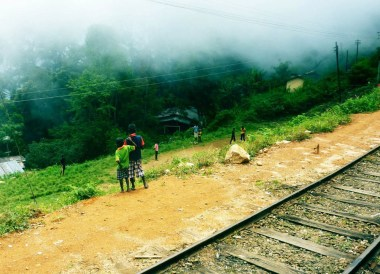 Transporting by Train, British Tea Plantations in Asia, Hill Stations