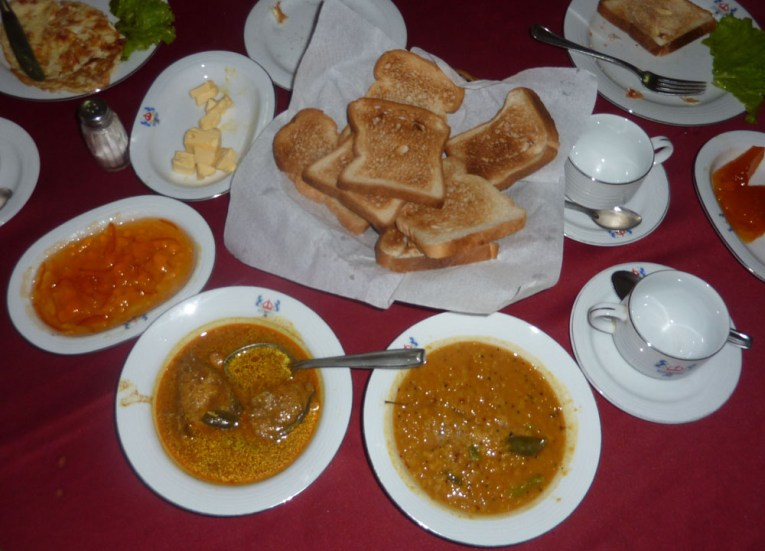 Curry Dhal Breakfast, South Sri Lanka Tour, Independent Travel Asia