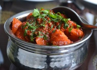 Dum Aloo Curry, Himalayan Food, Eating in the Himalayas, Sikkim