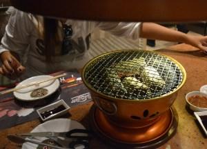 Charcoal Grill, Sukishi Korean Barbecue Bangkok, Japanese Food