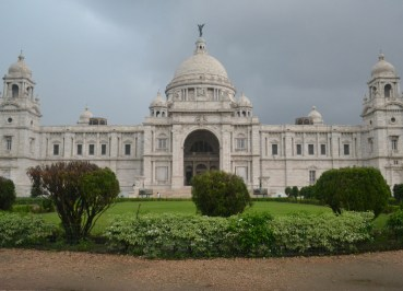Victoria Memorial, Weather in Monsoon Season in Kolkata, West Bengal, India