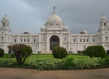Victoria Memorial, Weather in Monsoon Season in Kolkata, West Bengal, India