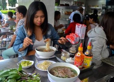 Pho Noodle Soup Top 10 Vietnamese Food Eating in Vietnam