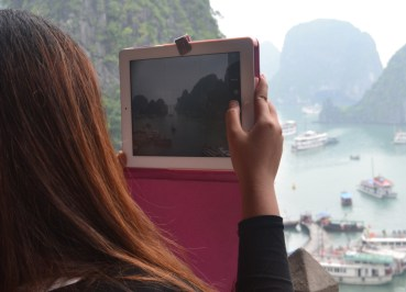 Views from Surprising Cave, Best Halong Bay Overnight Cruise Tours from Hanoi