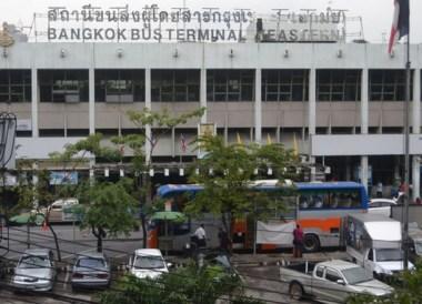 Ekamai Eastern Bus Station Bangkok, Travel in Eastern Thailand