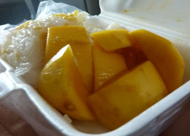 Mamuang Khao Niew, Sweet Thai Desserts in Thailand, Southeast Asia