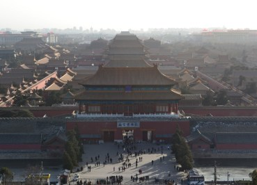Hilltop View from Jingshan Park, Best Views of Forbidden City, Beijing