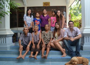 Family Time in Isaan, Moving Backwards to Move Forward