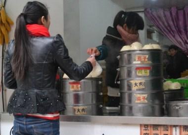 Nanchang Alley Big Baozi Buns, Top Ten Chinese Street Food in Xian China