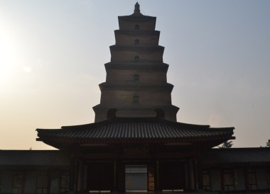 Central Pagoda Building, Top Attractions in Xian China (Shaanxi)