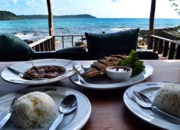 Eating Seafood on Koh Kood, Top Koh Chang Hideaways, Romantic Resorts, Thailand