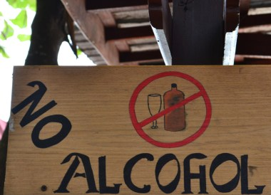 Alcohol Ban on Beaches, No Alcohol, Perhentian Besar, Malaysia