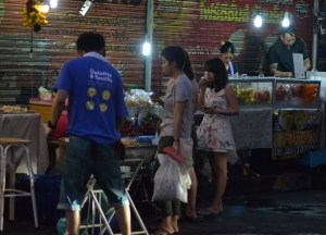Local Fresh Fruit Stalls, Best Sukhumvit 38 Street Food, Bangkok