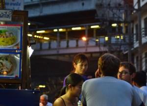 Under the Skytrain Station, Best Sukhumvit 38 Street Food, Bangkok