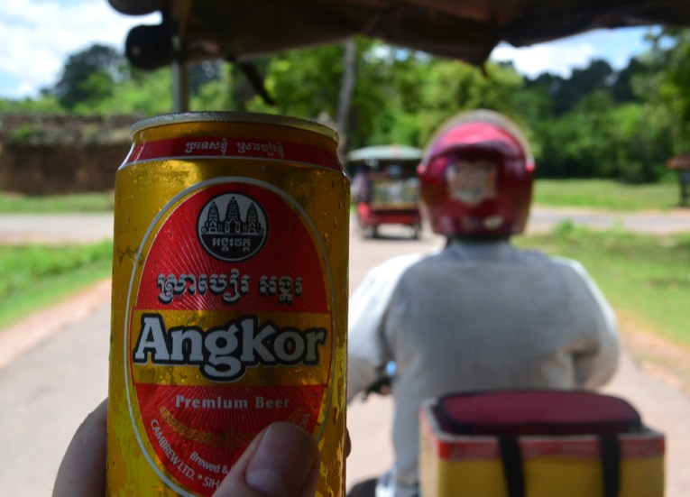 Refreshing Angkor Beer, Best Beers and Alcohols in Asia