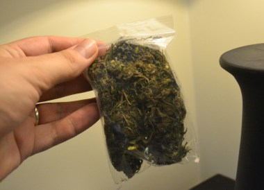 Bag of Cannabis, Marijuana Happy Pizzas in Siem Reap