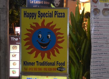 Happy Special Pizza, Marijuana Happy Pizzas in Siem Reap