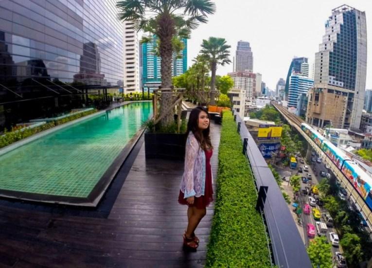 Overlooking Skytrain (BTS), Holiday Inn Sukhumvit 22, Bangkok
