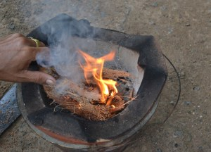 Flaming Coconut, How to Open, Prepare and Eat Coconuts
