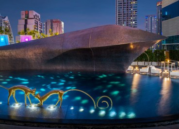 The W Hotel Pool, Coolest Design Hotels in Bangkok Party Hotels