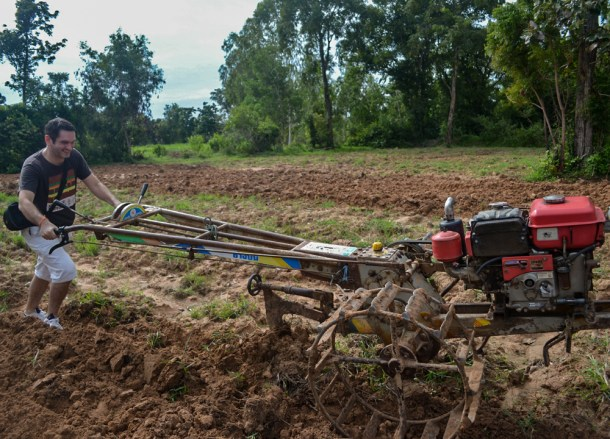 Ploughing Rice Fields, Isaan Tours and Phanom Rung Thailand