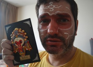 Monkey King Face Paint, Suriving Power Outages in Bangkok