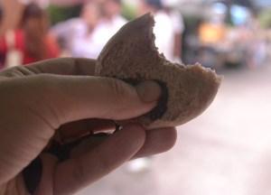 International Street Food in Bangkok, Chocolate Volcano Pao