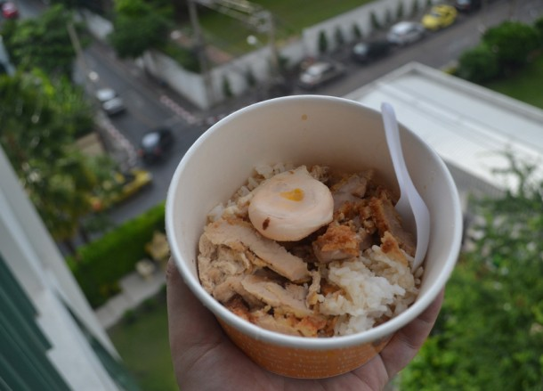 Katsu in a Tub, International Street Food in Bangkok