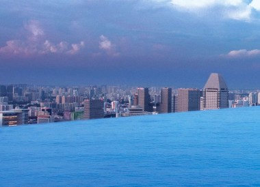Pool Above City, Best Boutique Hotels in Singapore Design