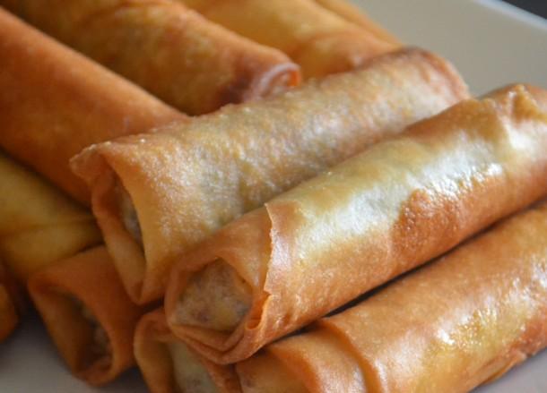 Spring Rolls, Bangkok Street Food, Cheap Eats, Thailand